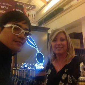 The requisite #selfie with the very lovely shop keeper.