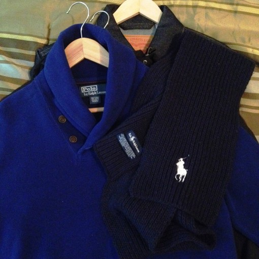 Going all–out with Ralph Lauren, starting with this Trail Sweater that I got for a steal!