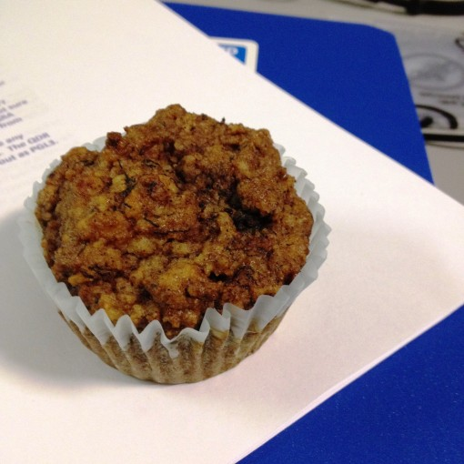 "The Sandy Kralik ""There's–Not–Even–Sugar–In–There"" Muffin!"