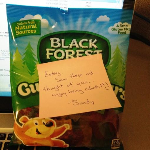 Yes, I am a Gummy Bear!