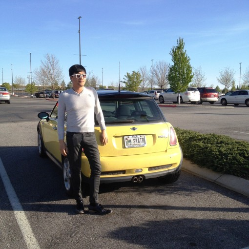 eNTeNG & the MINI, at the Boise Factory Outlet Mall.