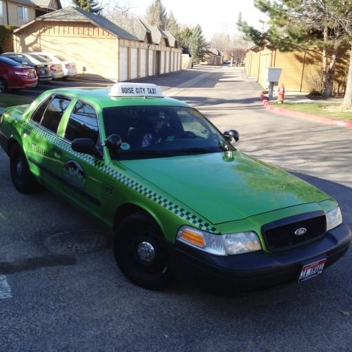 I Heart Boise...  City Taxi!