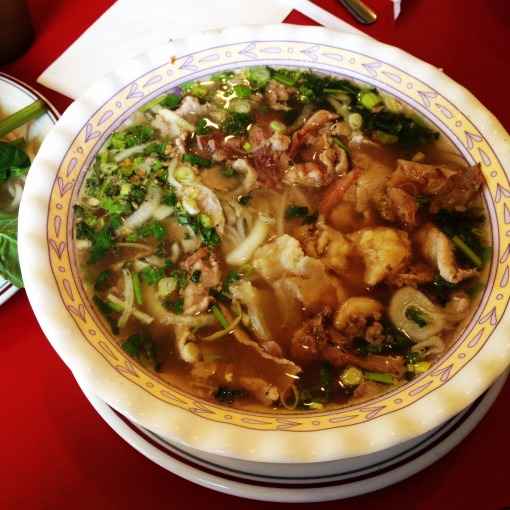My favorite Dong Khanh Beef Pho!  Probably the best I've had the world over.