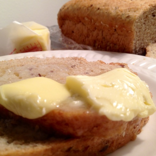 What's one of the best things in the world?  Butter melting and sliding down hot toast!
