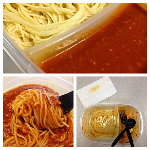 The life cycle of this pasta ended with Rubbermaid™ TakeAlongs™ so clean, short of being licked!
