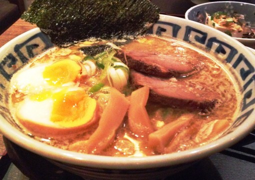 """""""Be still my heart.  Lately it's mind is all its own.""""  And head over heels over ramen!  Here is the classic one  I always order at DAIKOKUYA Ramen Dining."""