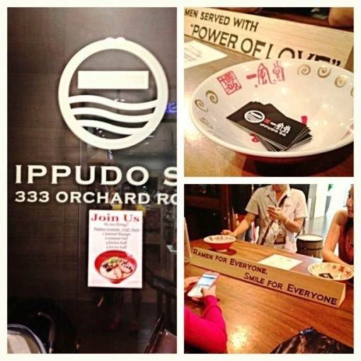 IPPUDO SG at 333 Orchard Road (Mandarin Gallery) kicks start my quest for the ultimate ramen.
