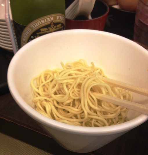The requisite extra bowl of noodles!!!