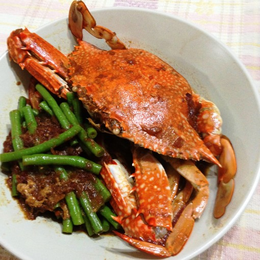 """Sarciadong Alimasag"" (flower crab sarciado) is ready!"