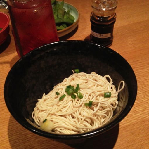 I am nothing if not a creature of habit.  And the extra serving of noodles has always been requisite to a most satisfying meal at IPPUDO SG!