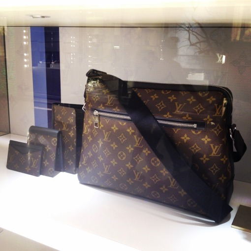 "I know someone very close to me who will love everything on this display.  I've never been one to fall head over heels over Louis Vuitton.  But these, I'm feeling like I could love these too.  Okay, ""like,"" I mean I could like these too."