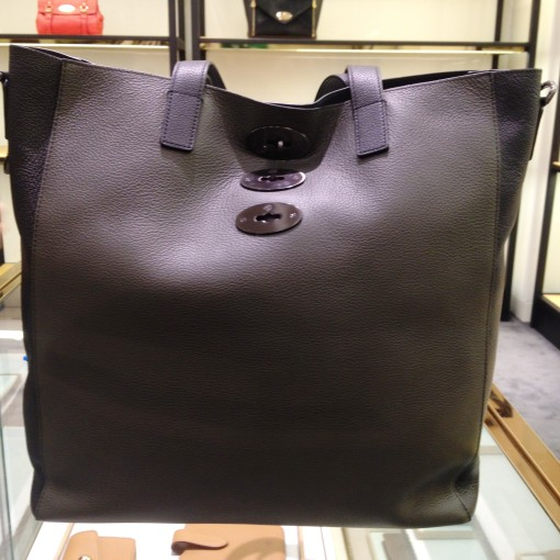 "I love that the Mulberry Brynmore Tote has a buffed up (""finished"") inner leather.  It can be worn across the body, or carried by the leather handles.  Really in love with this one."