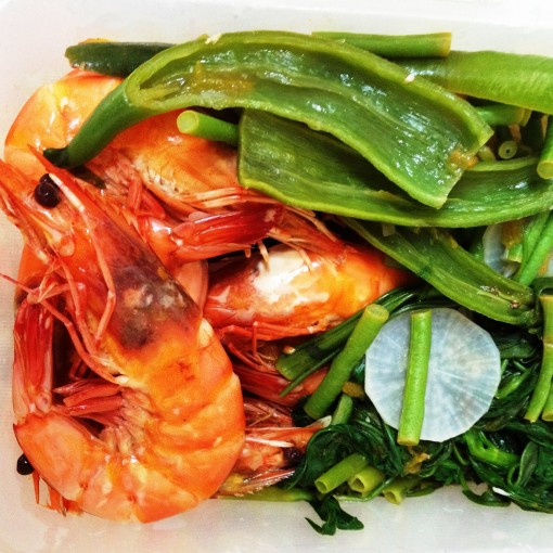 """I packed the """"sinigang"""" as beautifully as I could.  This batch was made for a VIP clientele and will have to travel from my flat to theirs."""