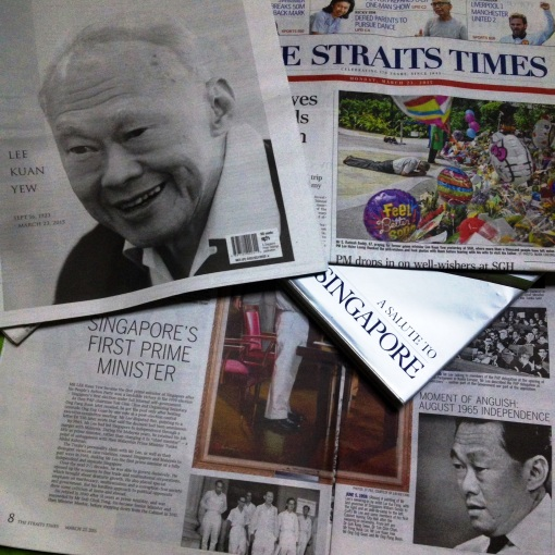 Farewell to Singapore's Founding Father, Prime Minister LEE KUAN YEW, September 16, 1923 – March 23, 2015.